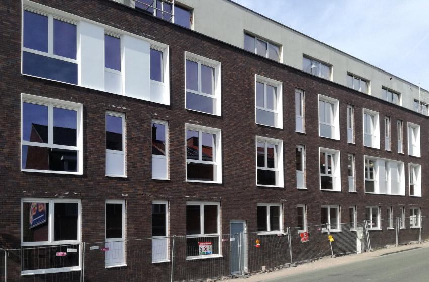 Dzīvojamās ēkas Beļģijā.
